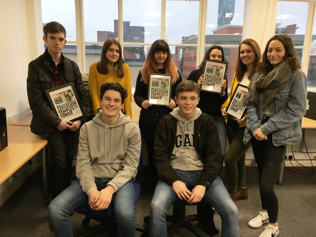 journalism workshops for a level students