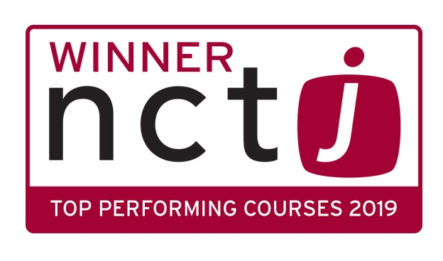 News Associates is officially the top-performing NCTJ course - 2019 logo