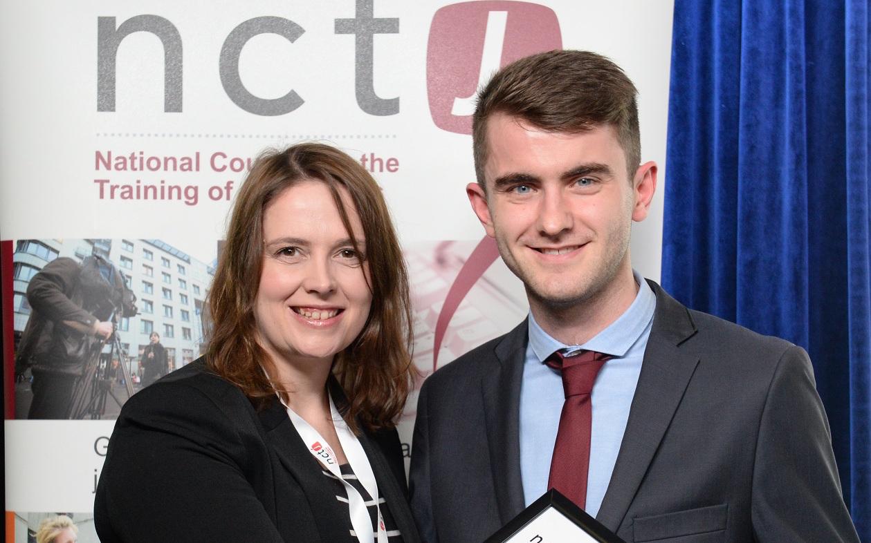 Archant reporting award Conor Gaffey 1
