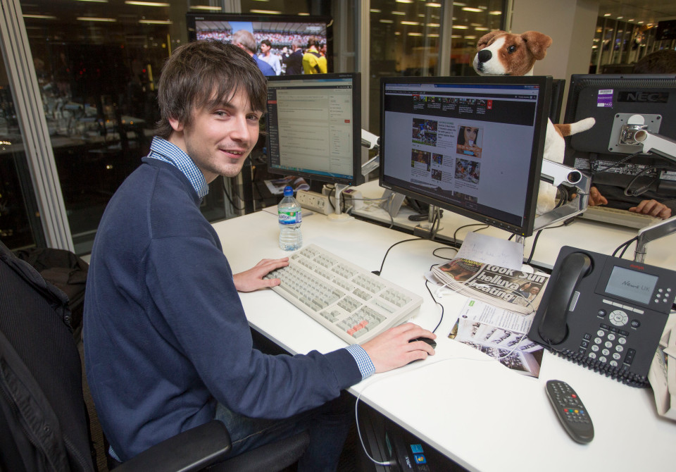 Lee Astley, who works on The Sun sports desk, graduated from The Sun/News Associates Diversity in Journalism scheme in summer 2014