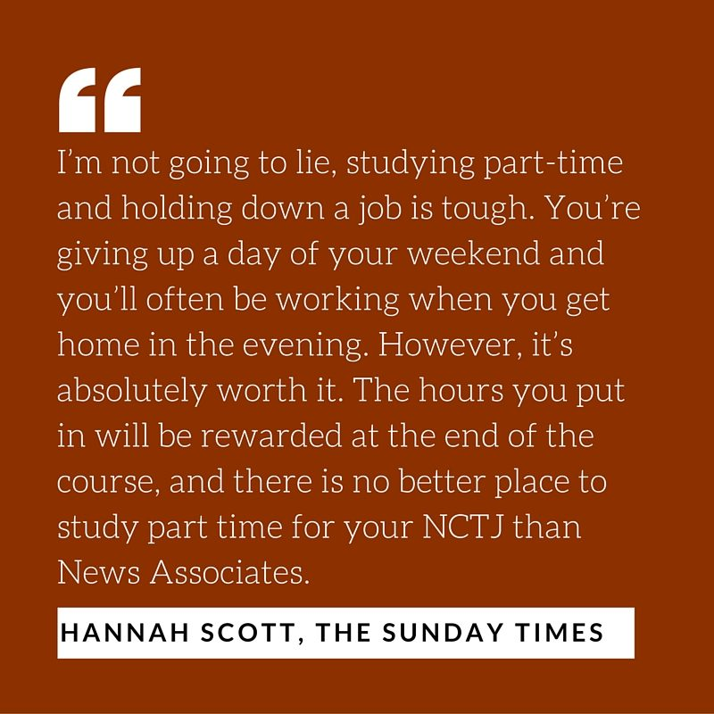 Hannah Scott The Sunday Times