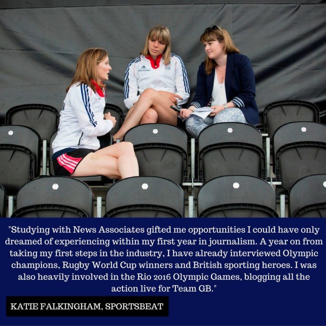 Katie Falkingham Sportsbeat Instagram