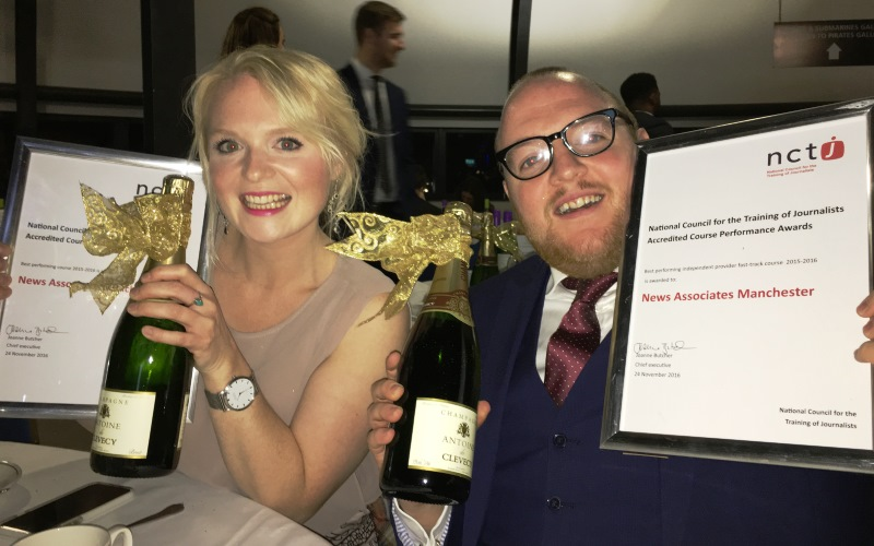 All News Associates journalism courses re-accredited by NCTJ