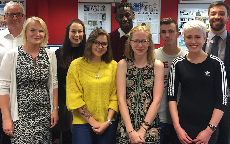 journalism apprenticeships