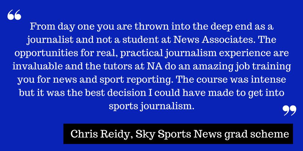 Sky Sports News graduate scheme