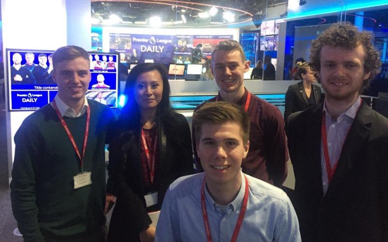 Sky Sports News trip - Cropped