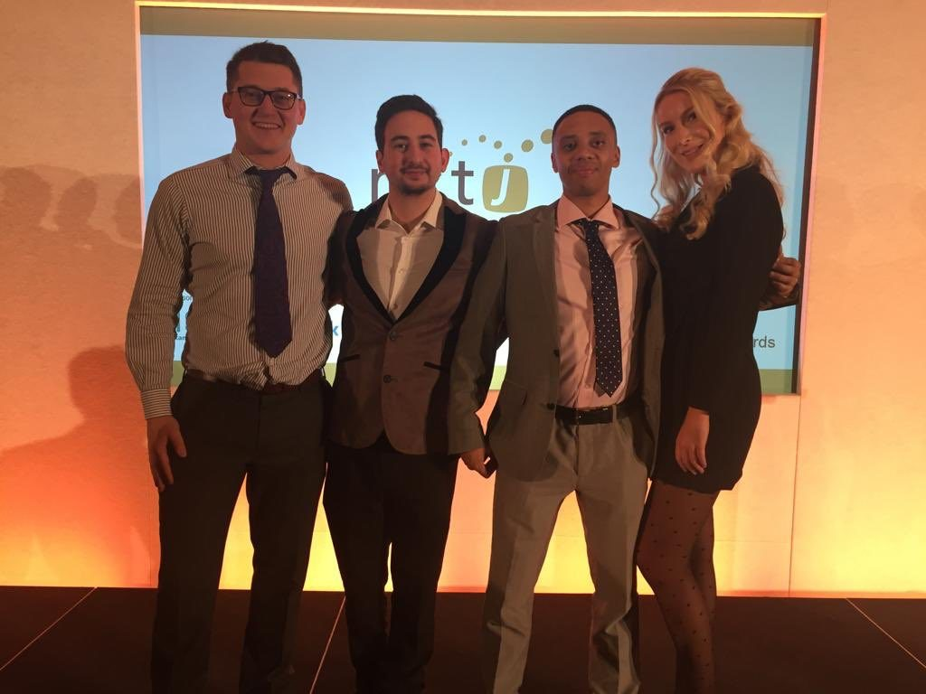 News Associates graduates at NCTJ awards