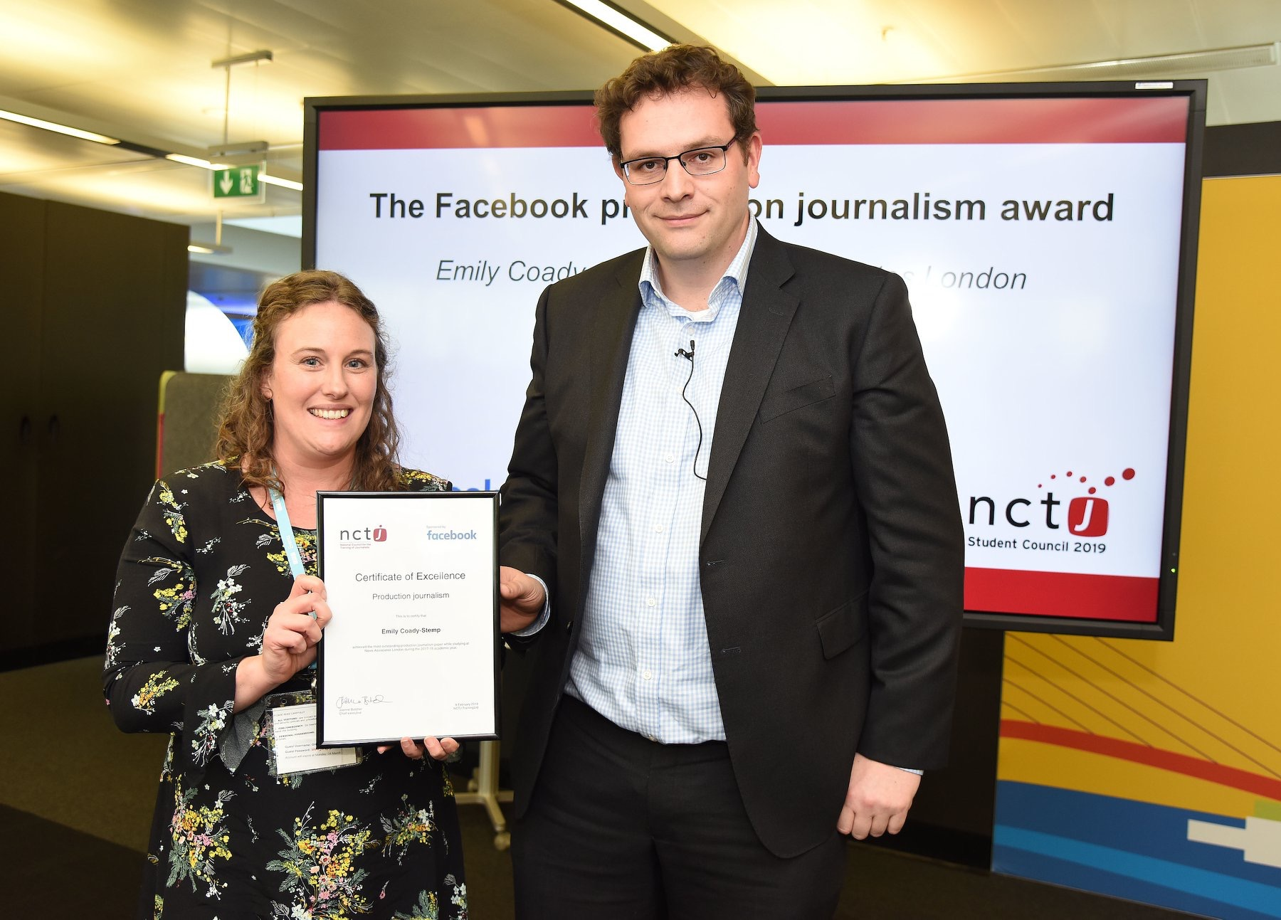 top NCTJ courses news associates graduates