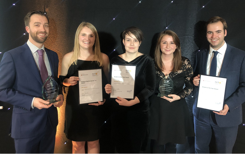 News Associates grads and staff with their NCTJ awards