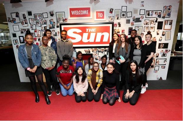 The Sun journalism diversity scheme