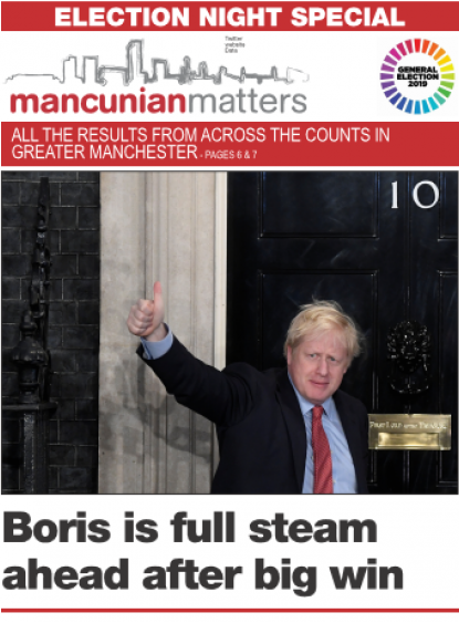 News Associates trainees created this bumper 24-page General Election special for Mancunian Matters.