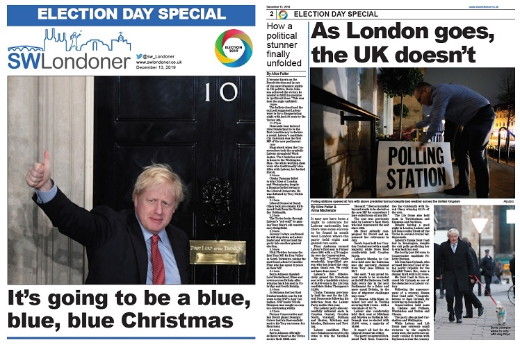 News Associates trainees created this bumper 24-page General Election special for South West Londoner.