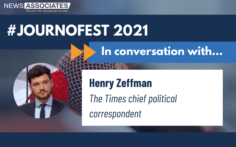 Graphic for in conversation with Henry Zeffman
