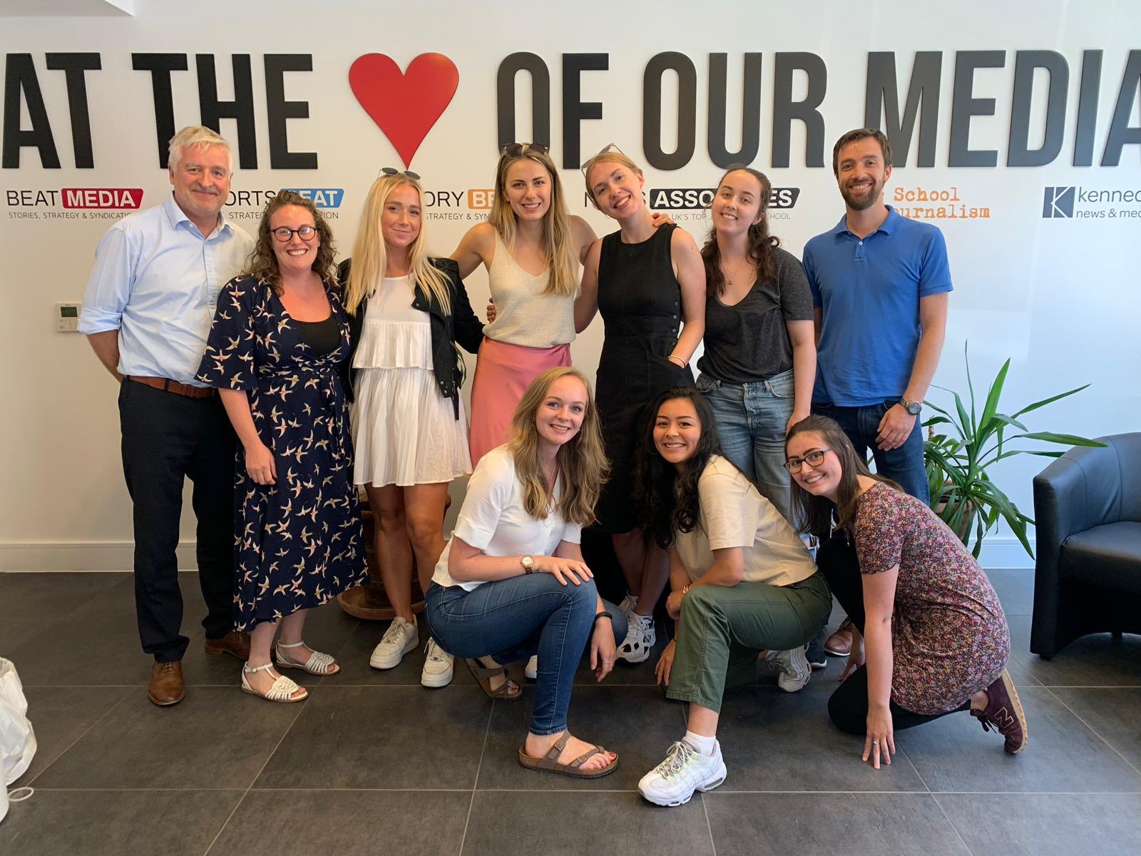 Picture of Summer School attendees and tutors in 2019, smiling